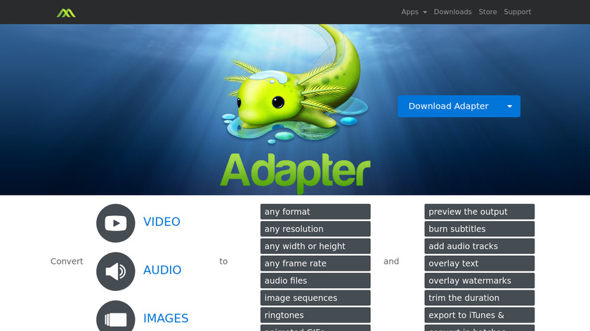 Adapter Landing Page