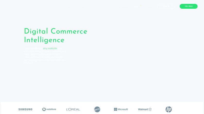 dexi.io Landing Page