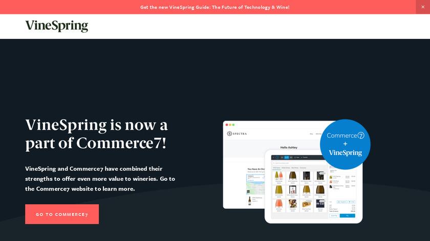 VineSpring Landing Page