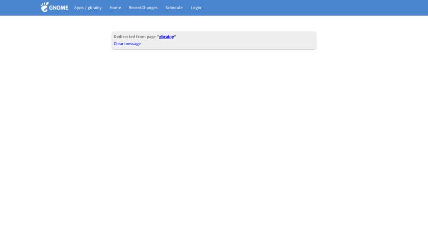 gbrainy Landing Page