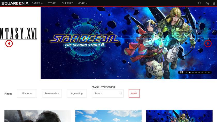 Lara Croft GO Landing Page
