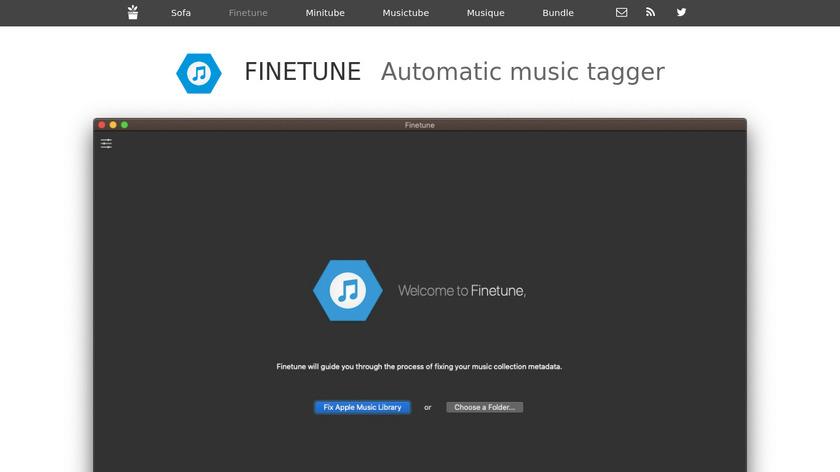 Finetune Landing Page
