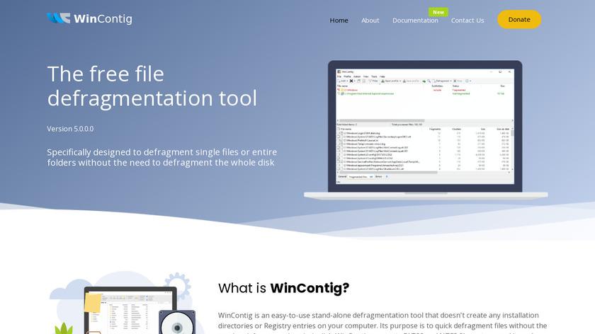 WinContig Landing Page