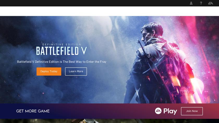 Battlefield Landing Page