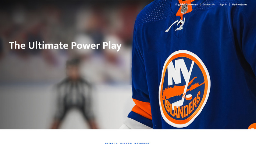 BlueJeans Landing Page