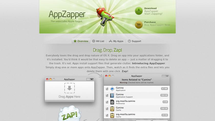 AppZapper Landing Page