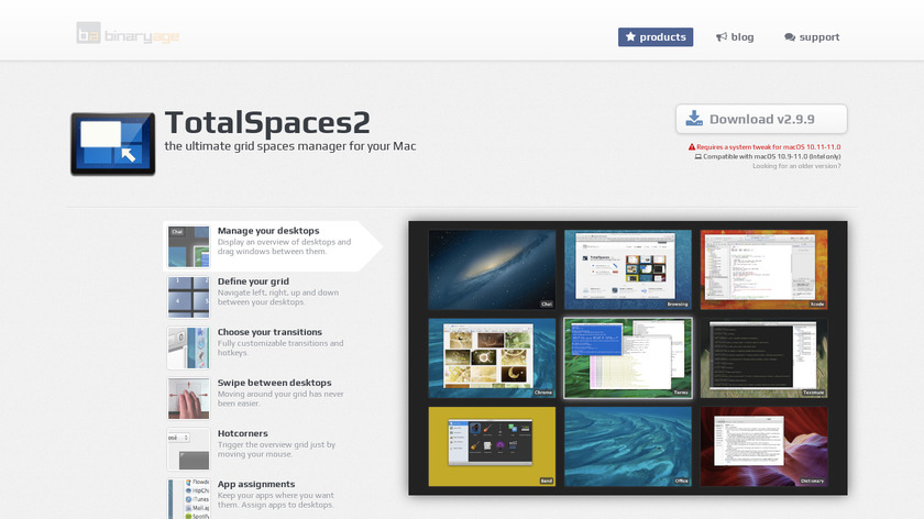 TotalSpaces Landing Page