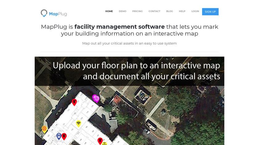 MapPlug Landing Page