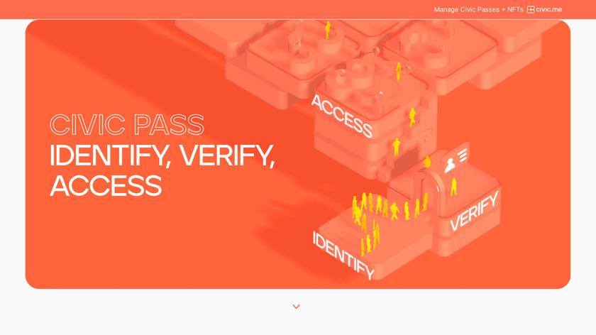 Civic Landing Page