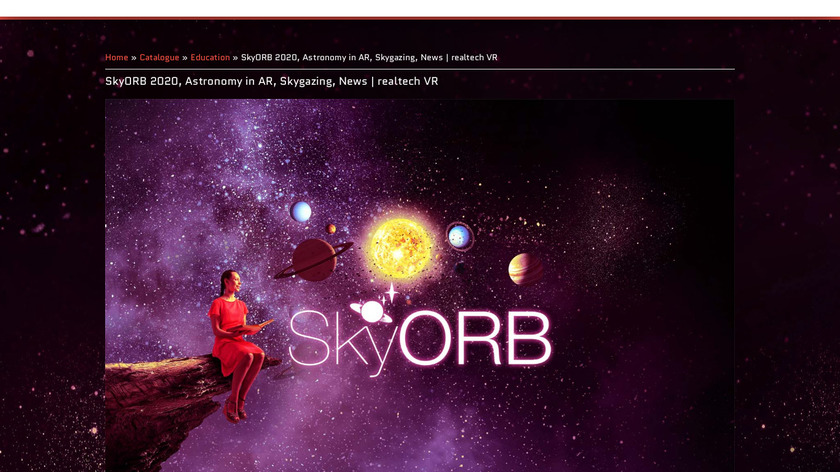 SkyORB Landing Page