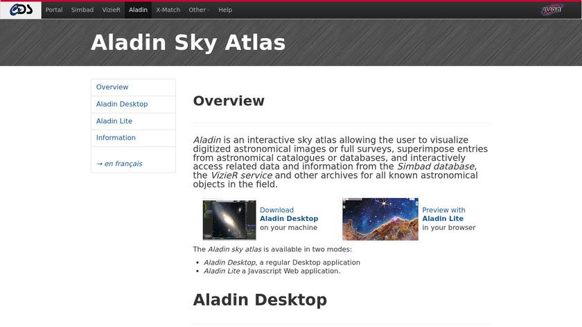 Aladin Landing Page