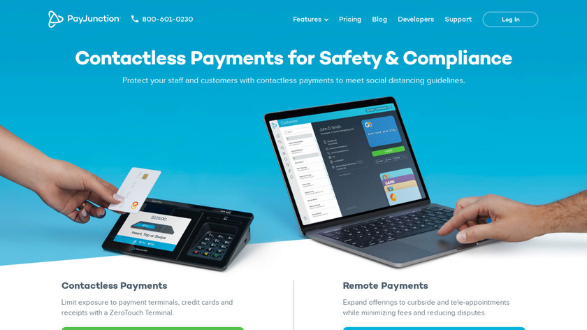PayJunction Landing Page