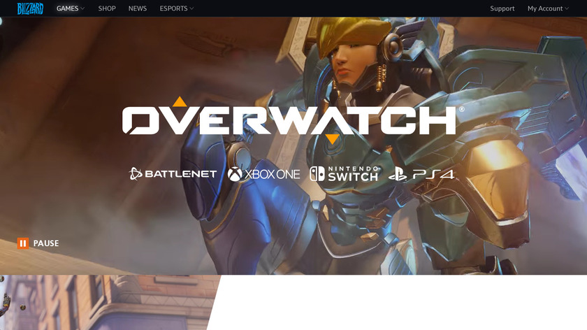 Overwatch Landing Page