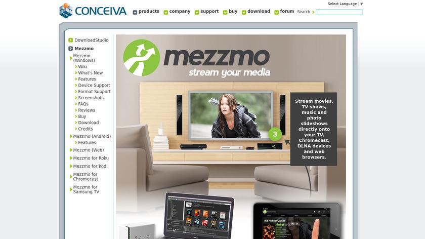 Mezzmo Landing Page