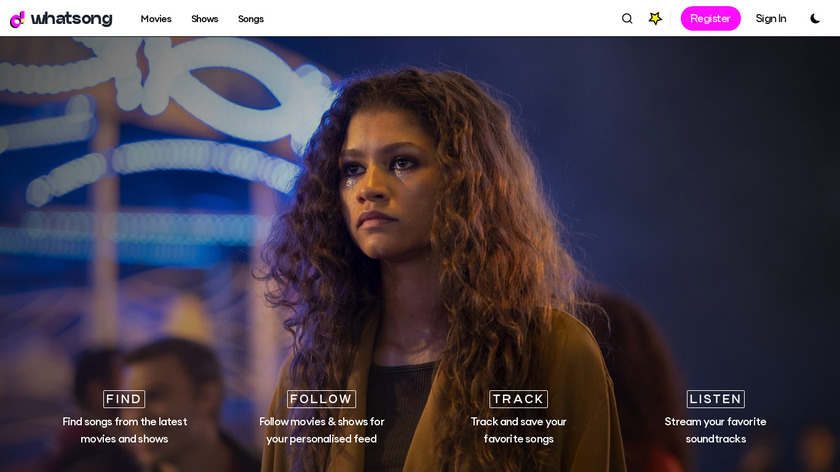 WhatSong Landing Page