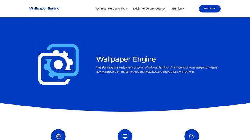 Wallpaper Engine Landing Page