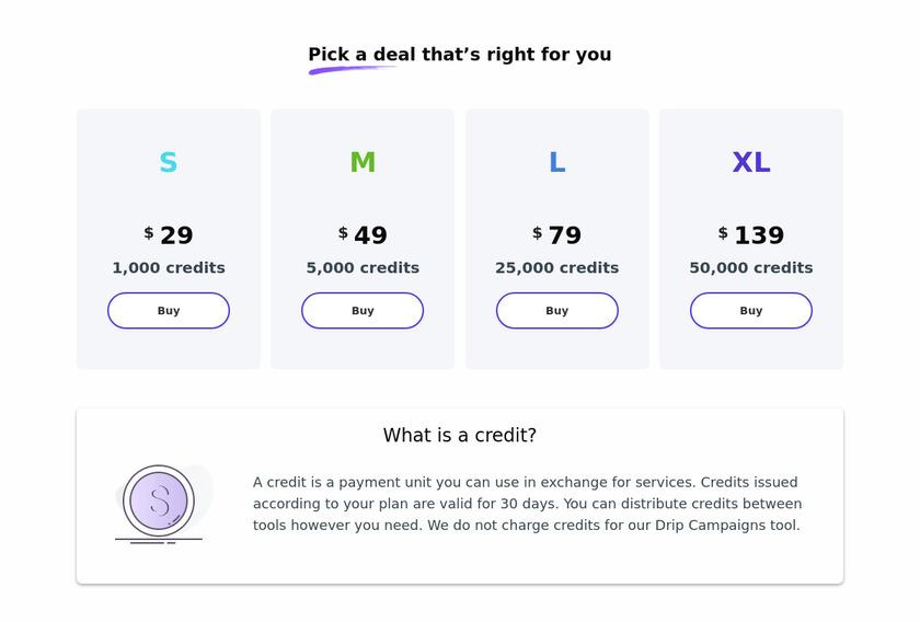 Snovio Pricing