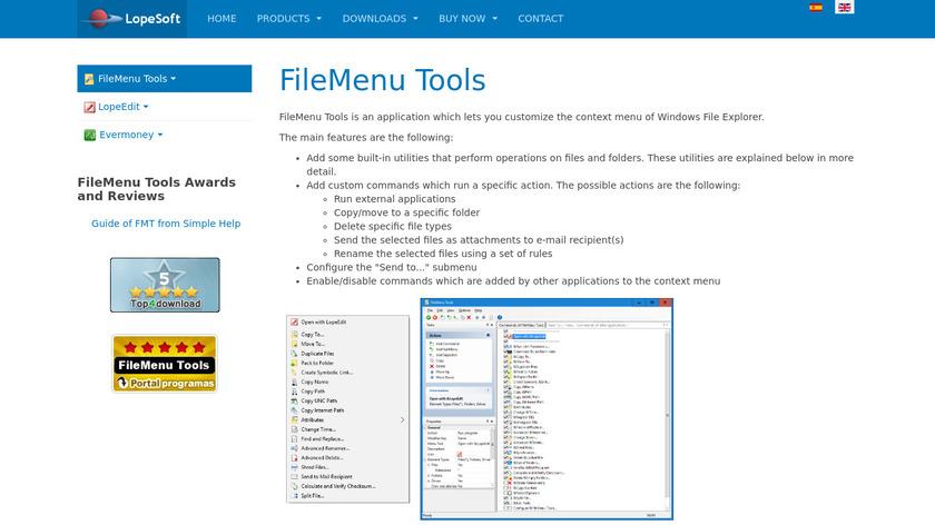 FileMenu Tools Landing Page