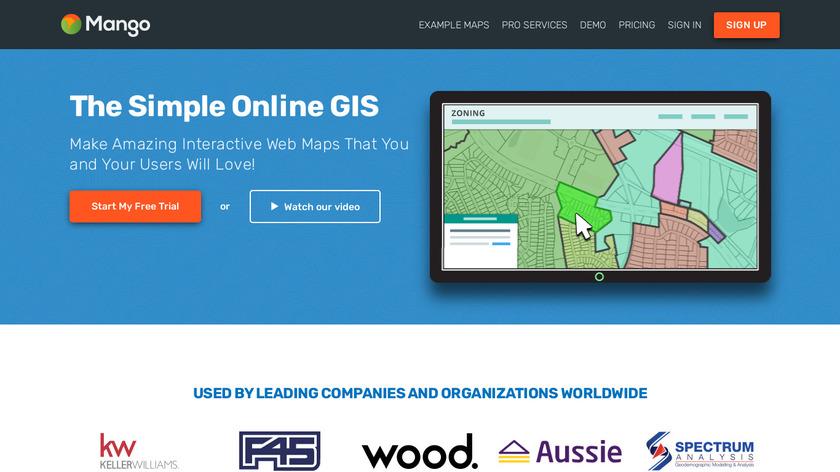 MangoMap Landing Page