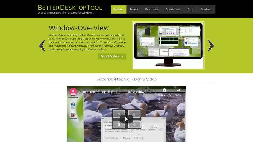 BetterDesktopTool Landing Page