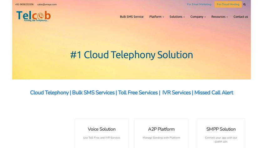 Telcob Landing Page