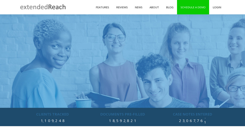 extendedReach Landing Page