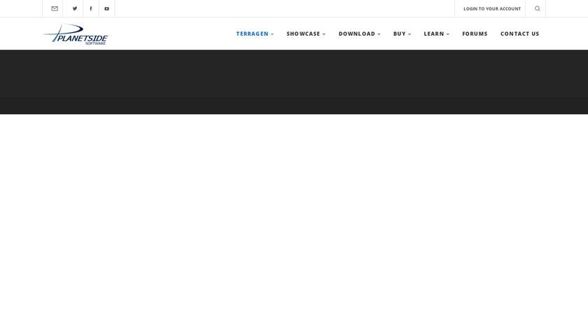 Terragen Landing Page