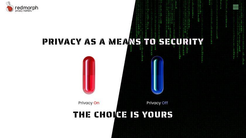 RedMorph Browser Controller Landing Page