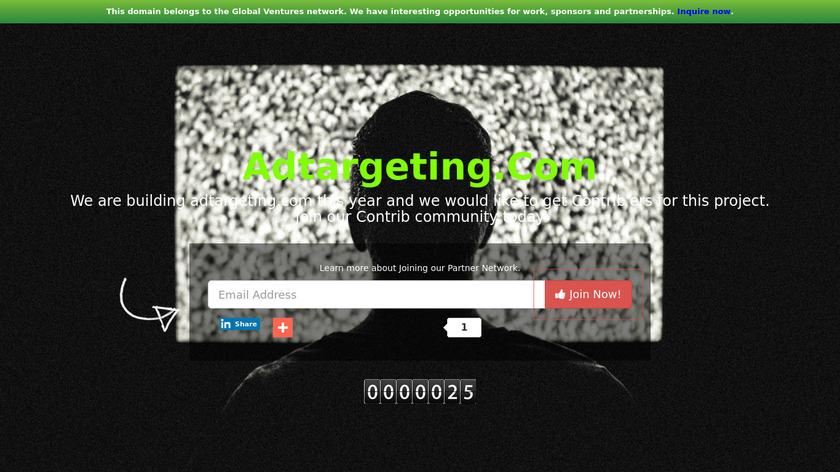 Ad Targeting Landing Page