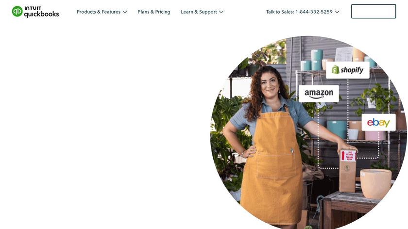 TradeGecko Landing Page