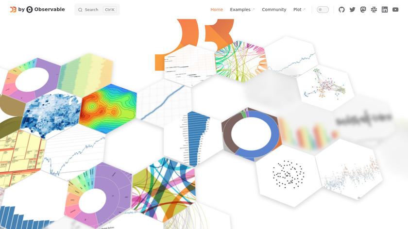 D3.js Landing Page