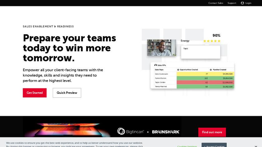 Brainshark Landing Page
