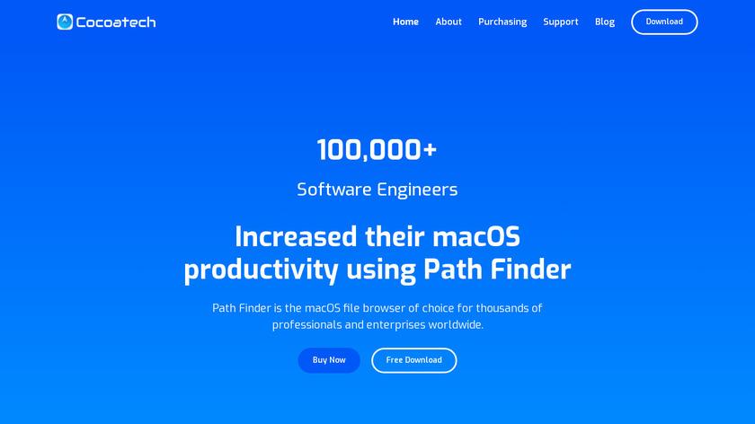 Path Finder Landing Page