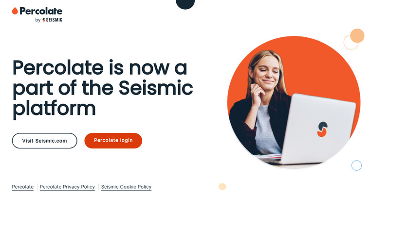 Percolate Landing Page