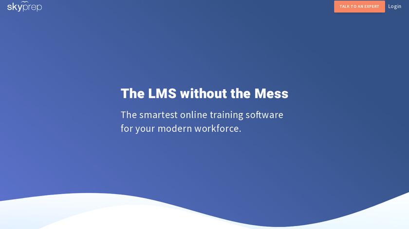 SkyPrep Landing Page