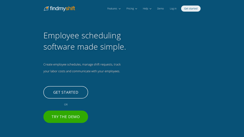 Findmyshift Landing Page