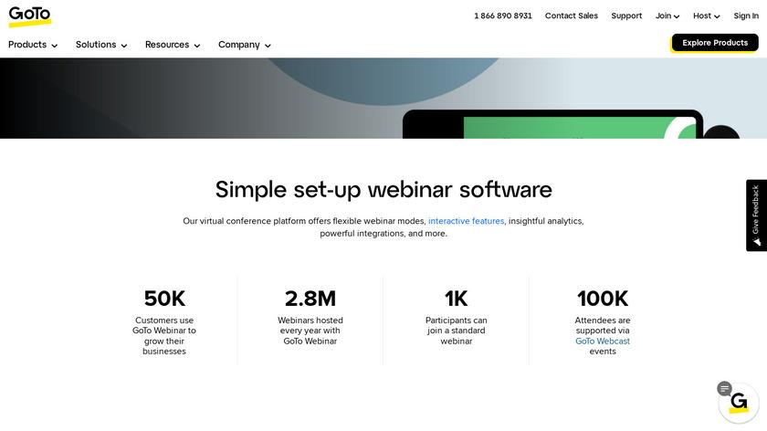 GoToWebinar Landing Page