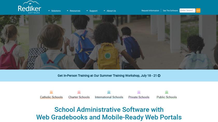 Rediker Software Landing Page