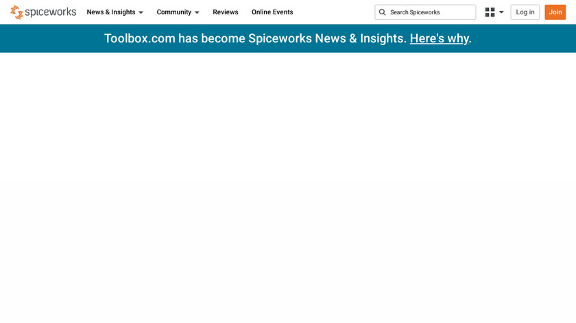 Spiceworks Landing Page
