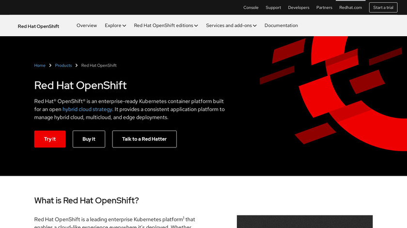 OpenShift Landing Page