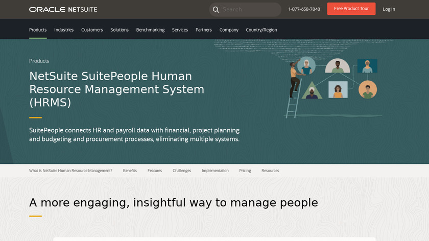 Tribe HR Landing Page
