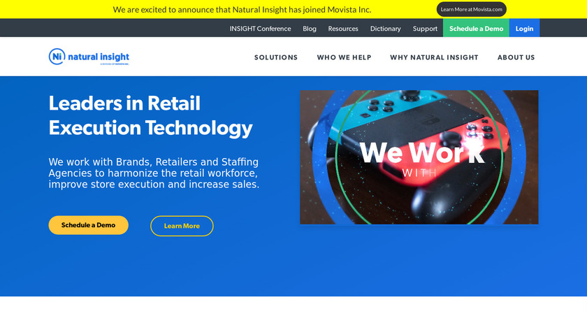 Natural Insight Landing Page