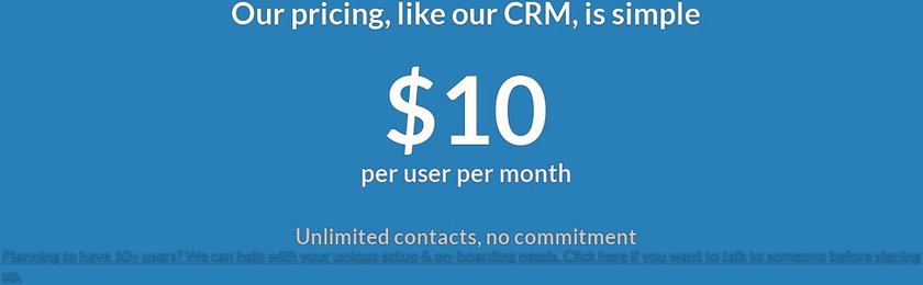 Less Annoying CRM Pricing