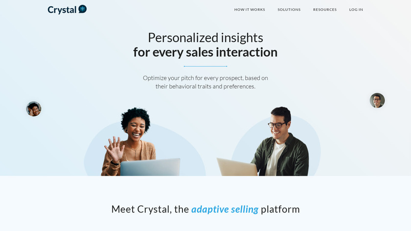 Crystal Landing Page