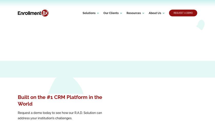 Enrollment Rx Landing Page