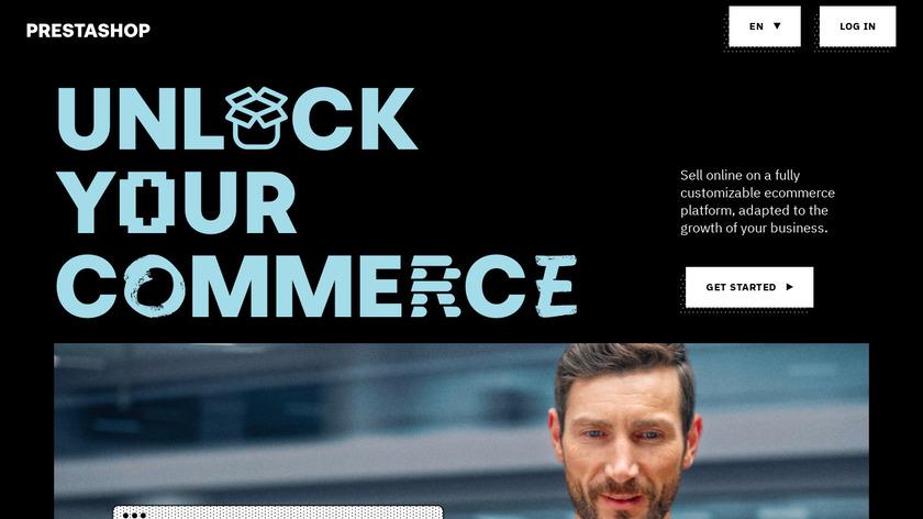 PrestaShop Landing Page