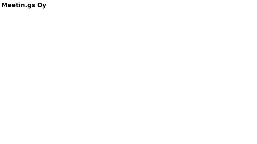 Meetin.gs Landing Page