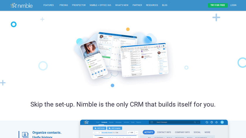 Nimble Landing Page
