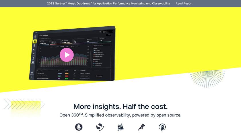 Logz.io Landing Page