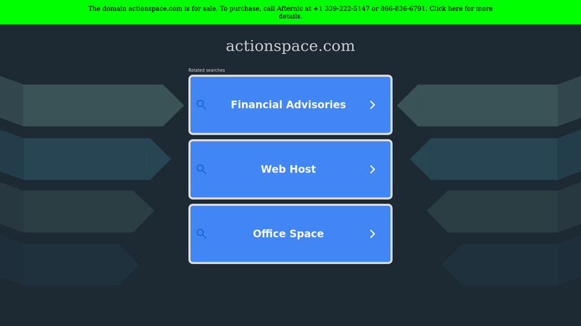 Actionspace Landing Page